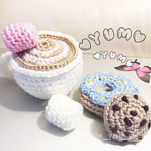 Inspired Crochet made by me